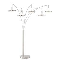 Lite Source LS-83279BN Sailee 90 inch 15 watt Arch Lamp Portable Light