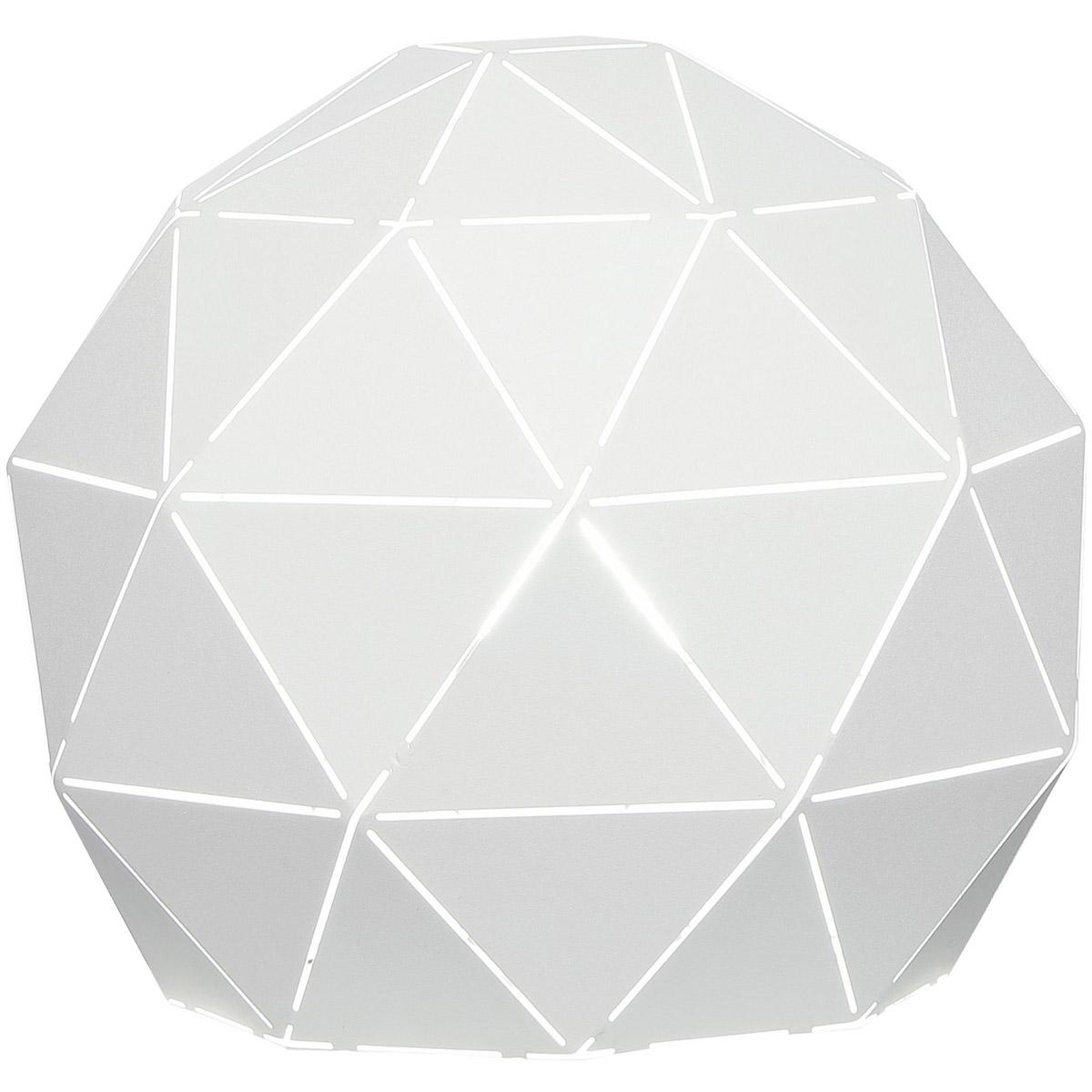 Lite Source LS-23130 Pandora 9 inch 40 watt White Table Lamp
