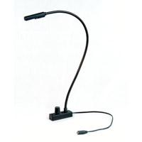 Littlite L-18-LED-UV Lampset 6 inch 1.8 watt Black Lampset Portable Light