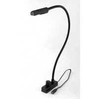 Littlite L-18-LED Lampset 12 inch 1.8 watt Black Desk Lamps Portable Light