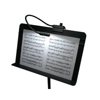 Lampset 1.8 watt Black Music Stand Light Wall Light