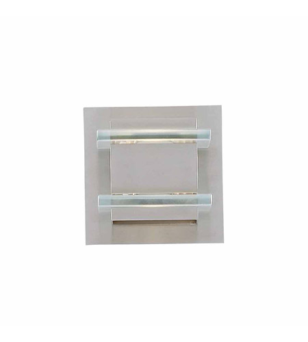 Brushed Steel Milan Bathroom Vanity Lights