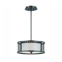 Lumenno International Series 1000 3 Light Pendant in Bronze with White Frosted Glass 1000-02-16