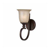 Series 1001 1 Light 8 inch Bronze Wall Sconce Wall Light
