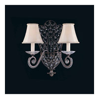 Prague 2 Light 20 inch Bronze Wall Sconce Wall Light