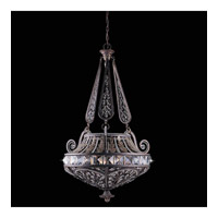 Series 1004 6 Light 28 inch Bronze Pendant Ceiling Light