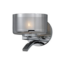 Bodorlo 1 Light 8 inch Chrome Plated Wall Sconce Wall Light