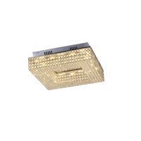 Lumenno 20418 Henny LED 18 inch Chrome Flush Mount Ceiling Light Square