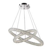 Lumenno 22925 Bellini LED 25 inch Chrome Pendant Ceiling Light