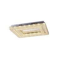 Lumenno 27424 Midori LED 24 inch Chrome Flush Mount Ceiling Light Square