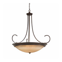 LaCosta 12 Light 54 inch English Bronze Pendant Ceiling Light