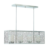 Lumenno Contempo 4 Light Island Light in Chrome 39507