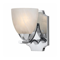 Lumenno 8003-00-01 Value 8003 1 Light 8 inch Chrome Plated Wall Sconce Wall Light