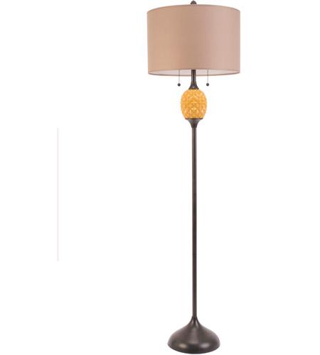 60 Watt Pinele Gl Floor Lamp
