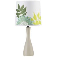 Lights UP 260SO-ANG Oscar Boudoir 18 inch 60 watt Soy Table Lamp Portable Light in Anna Green