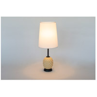 Lights UP Coconut Glass Table Lamps