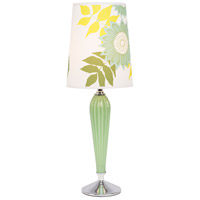 Lights UP 470AG-ANG Colette 26 inch 60 watt Apple Glass Table Lamp Portable Light in Anna Green