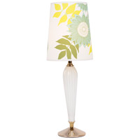 Lights UP 470MG-ANG Colette 26 inch 60 watt Milk Glass Table Lamp Portable Light in Anna Green