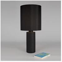 Lights UP 501CI-ANG Circa 34 inch 100 watt Cast Iron Ceramic Table Lamp Portable Light