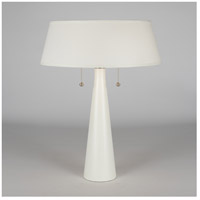 Lights UP 502BQ-CCC Lizzie 22 inch 100 watt Bisque Ceramic Table Lamp Portable Light in Cocoa Chintz