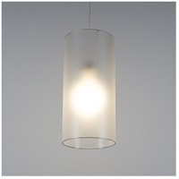 Lights Up Signature 1 Light Pendant in Brushed Nickel with Ultrafrost Shade 9201BN-UFT