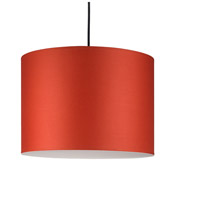 Lights UP 9204BN-BUC Meridian Large LED 5 inch Brushed Nickel Pendant Ceiling Light in Burnish Chintz