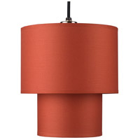 Lights UP 9205BN-BUC Deco 1 Light 5 inch Brushed Nickel Pendant Ceiling Light in Burnish Chintz, Small