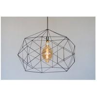 Lights UP 9255UF-XXX Geo 1 Light Unfinished Metal Pendant Ceiling Light