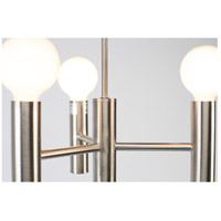 Lights UP 930BN-XXX Walker 68 inch 60 watt Brushed Nickel Floor Lamp Portable Light in No Shade