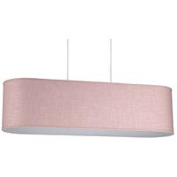 Lights UP 9430BN-ROS Blip 30 LED 12 inch Brushed Nickel Pendant Ceiling Light in Rose Tweed