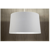 Lights UP 9703BN-MWS Weegee 2 Light 5 inch Brushed Nickel Pendant Ceiling Light in Metallic White & Silver