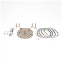 Lights UP HD-407BN-X Hardware White Cable Suspension Kit