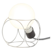 Lights UP W101UF-2000EI Squirc 8 inch 100 watt Unfinished Metal Table Lamp Portable Light