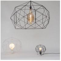 Lights UP W254UF-2000EI Geo 16 inch 100 watt Unfinished Metal Table Lamp Portable Light, Mini