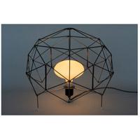 Lights UP W255UF-2000EI Geo 21 inch 100 watt Unfinished Metal Table Lamp Portable Light
