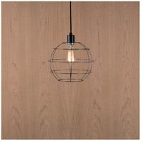 Lights UP W908UF-2000BK Globe 1 Light Unfinished Metal Pendant Ceiling Light, Small