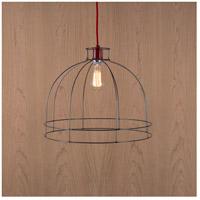 Lights UP W923UF-2000RD Dome 1 Light Unfinished Metal Pendant Ceiling Light Large