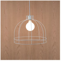 Lights UP W923PW-2000WH Dome 1 Light Powder Coat White Pendant Ceiling Light Large