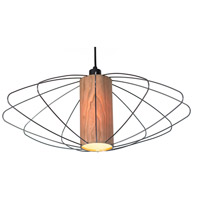 Lights UP W944UF-2000BK-CWD Woody Nelson 1 Light Unfinished Metal Pendant Ceiling Light