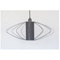 Lights UP W944UF-2000BK-EWD Woody Nelson 1 Light Unfinished Metal Pendant Ceiling Light
