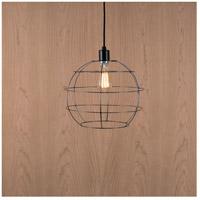 Lights UP W928UF-2000BK Globe 1 Light Unfinished Metal Pendant Ceiling Light Large