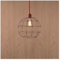 Lights UP W928UF-2000RD Globe 1 Light Unfinished Metal Pendant Ceiling Light Large