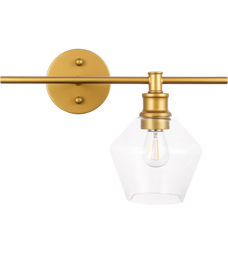 Living District Brass Gene Wall Sconces