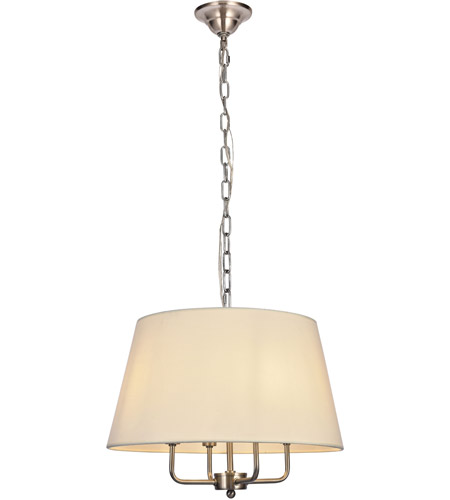 Living District LD6009D17BN Maple 4 Light 17 inch Burnished Nickel Pendant Ceiling Light photo  sc 1 st  Lighting New York & Living District LD6009D17BN Maple 4 Light 17 inch Burnished Nickel ...