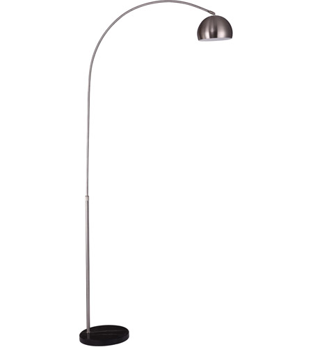 Nickel Steel Floor Lamps