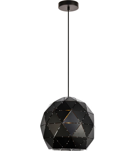 living district ldpd2077 arden 1 light 12 inch black pendant ceiling