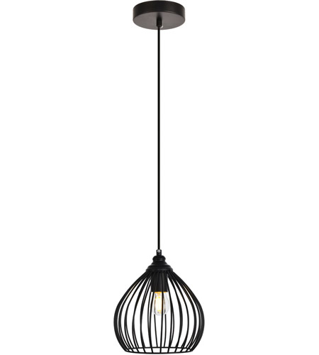 living district ldpd2093 sayer 1 light 8 inch black pendant ceiling