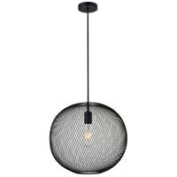 Living District LD2251BK Keller 1 Light 15 inch Black Pendant Ceiling Light