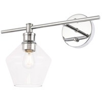 Living District LD2304C Gene 1 Light 15 inch Chrome Wall sconce Wall Light, Left alternative photo thumbnail