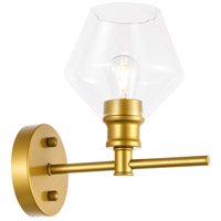 Living District LD2308BR Gene 1 Light 6 inch Brass Wall sconce Wall Light